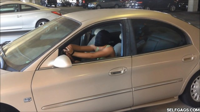 girl tied and gagged in car selfgags