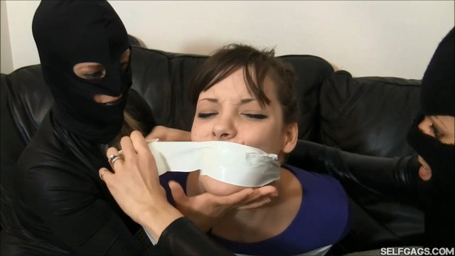 Girl tape gagged by other girls selfgags