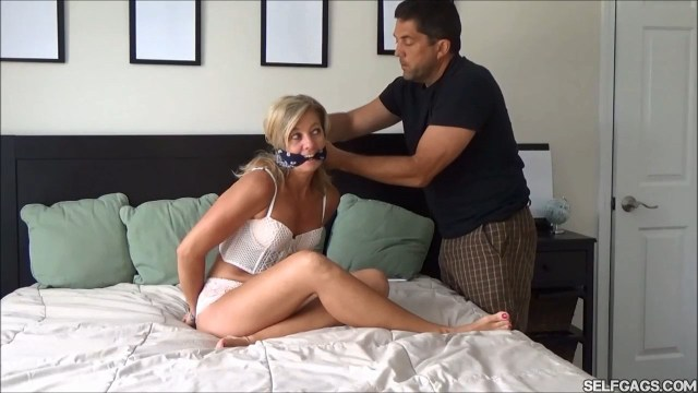 handcuffed wife cleave gagged by husband selfgags