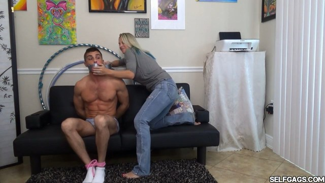 milf tape gags tied up boy tight selfgags