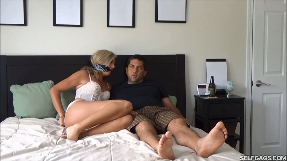 Hard Working Wife Begs For Bondage!