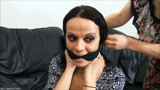Lavinia cleave gagged girl selfgags