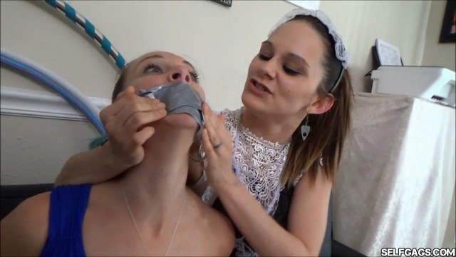 milf tape gagged by young girl selfgags