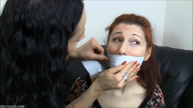 girl tape gags another girl tight selfgags