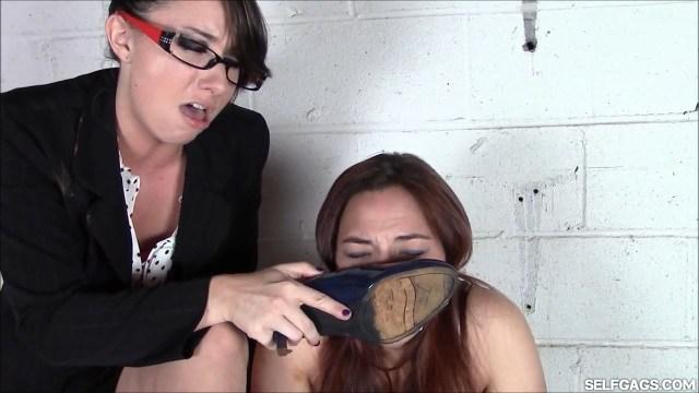 Teacher makes student smell her shoe