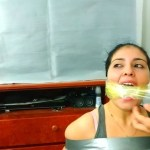 Massively Duct Tape Wrap Gagged By Dominant Latina BDSM Stepmom