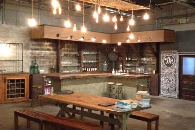 Tastemade's bar set at its L.A. studio