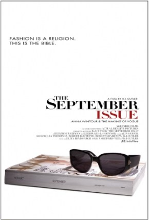 The poster for 'The September Issue,' the 2009 documentary about Vogue