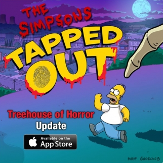 More people played the 'Treehouse of Horror' edition of 'The Simpsons: Tapped Out' than watched the Halloween episode on TV in the U.S.