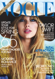 The February issue of Vogue