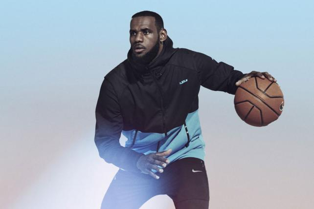 LeBron James has endorsed Nike since signing with the brand in 2003.