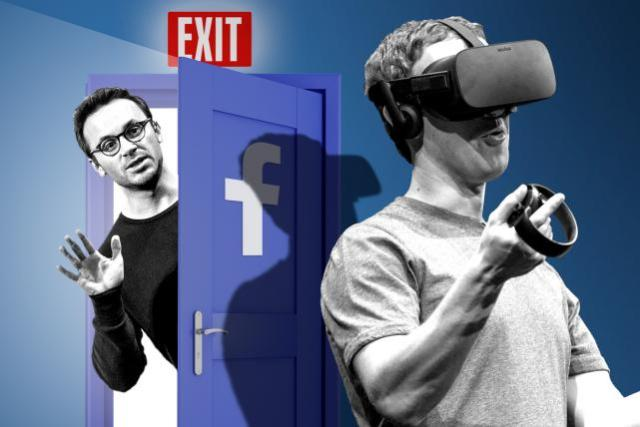 Oculus co-founder Brendan Iribe is out the door at Facebook.
