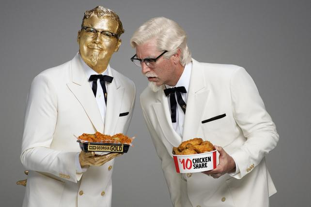 Image result for KFC Doubles Down on a Dumb Ad Campaign: