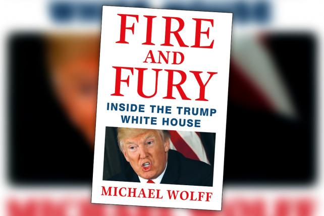 Image result for fire and fury book funny