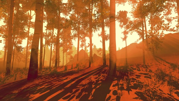 Forest Landscape - Firewatch