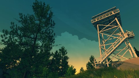 Henry's Lookout Tower - Firewatch