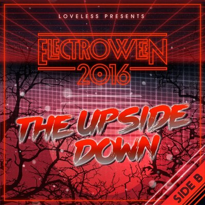 ELECTROWEEN 2016 - The Upside Down Mix Artwork