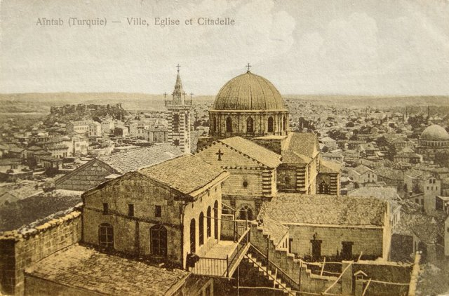 Surp Asdvadzadzin (Aziz Meryem Ana) Katedrali, 1900'lerin başı.