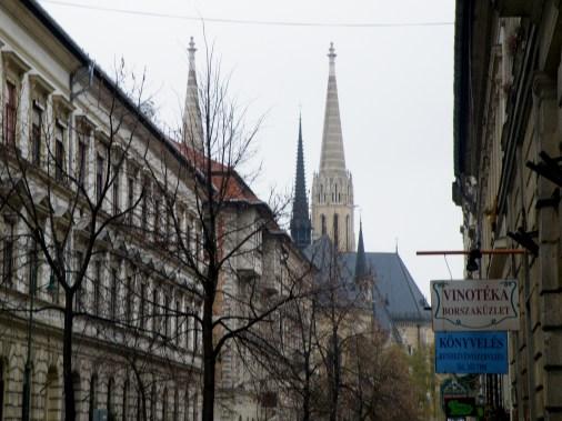 An inner city church near hotel