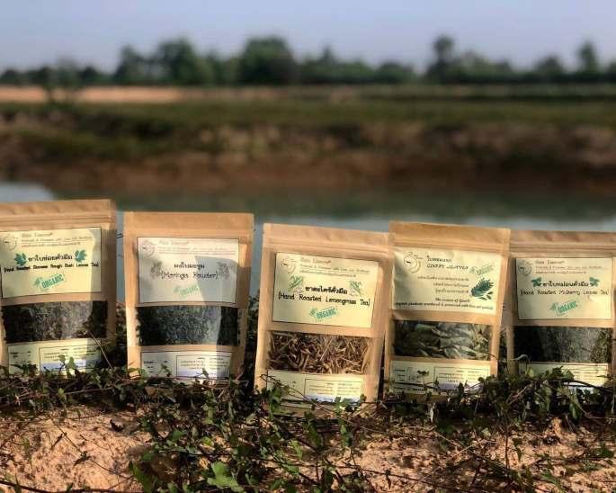 hand-roasted lemongrass tea