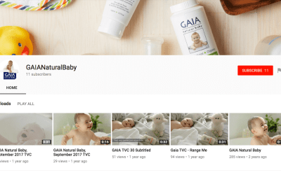 Gaia Skin Naturals on Youtube