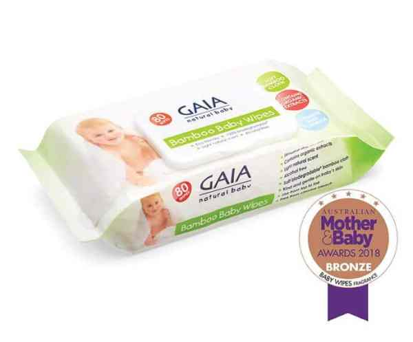 gaia bamboo baby wipes