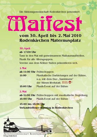 Tanz in den Mai 30.04.2010 Rodenkirchen
