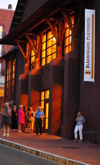 The Blackfriars Theatre in Staunton, VA