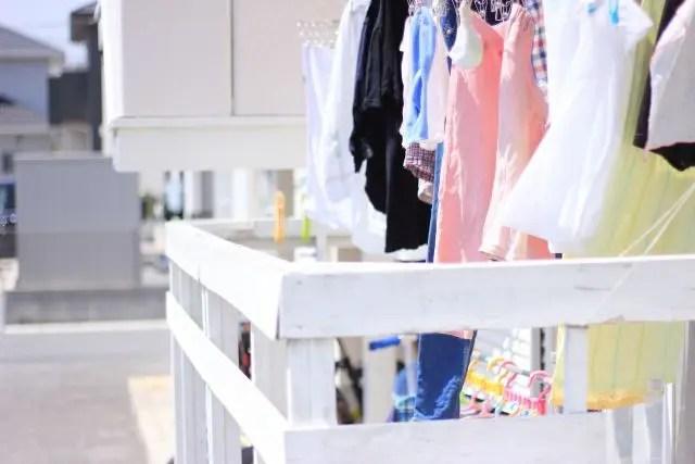 外壁塗装の工事中の洗濯物はどこに干すべき!?塗料が飛び散ったら?