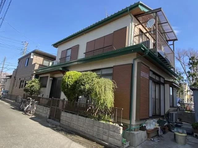 埼玉県春日部市のU様邸の外壁塗装後