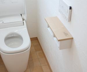 トイレ 壁紙 色