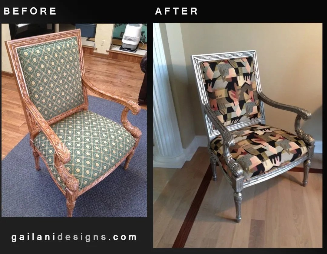 Gailani Designs Chair Makeover