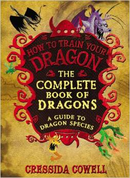 The cover for The Complete Book of Dragons features several dragons.