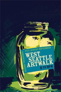 West Seattle Artwalk poster