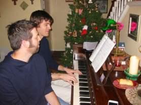 Brandon Musser and Caleb Weeks