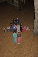 CrossWise together in pajamas