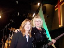 Having the privilege on occasion to play bass for Inspirational Country artist Mary James.