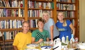 Jeff, Jon, Gail and Emily