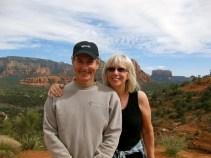 With Jeff in Sedona, AZ