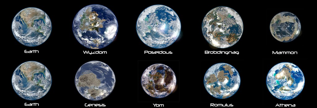Habitable Exoplanet Similarities and Differences with Earth