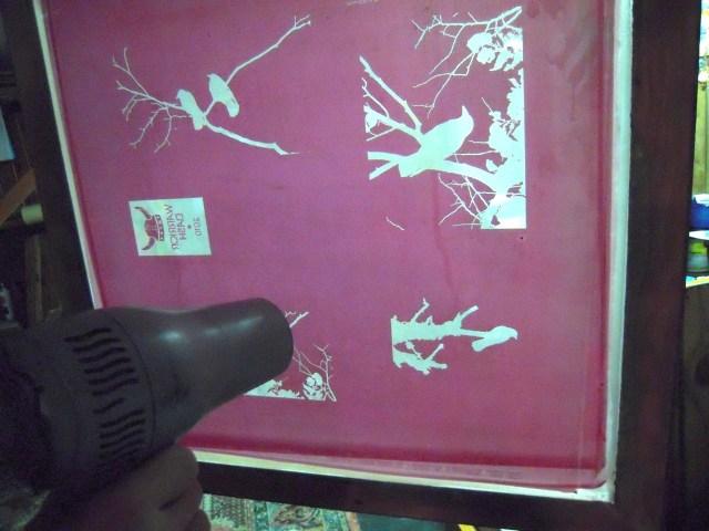 shot crow screen