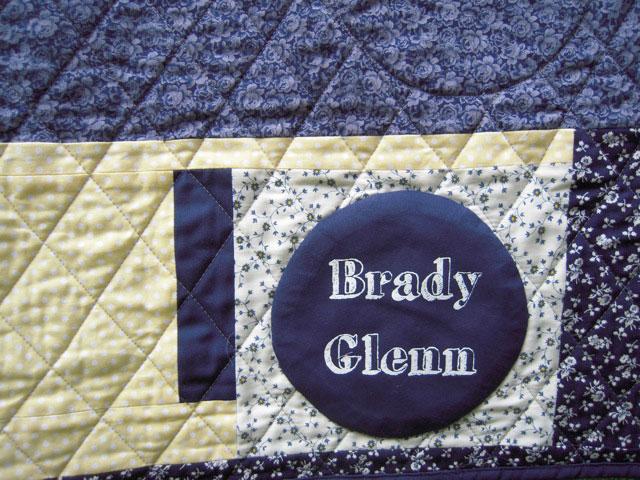 brady glenn label