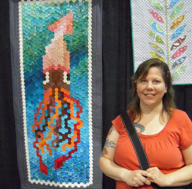 gail and squid quilt