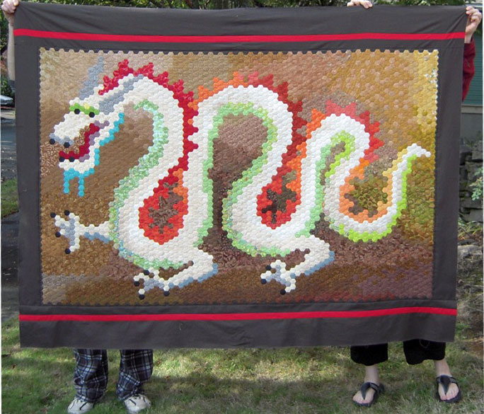 finished dragon top