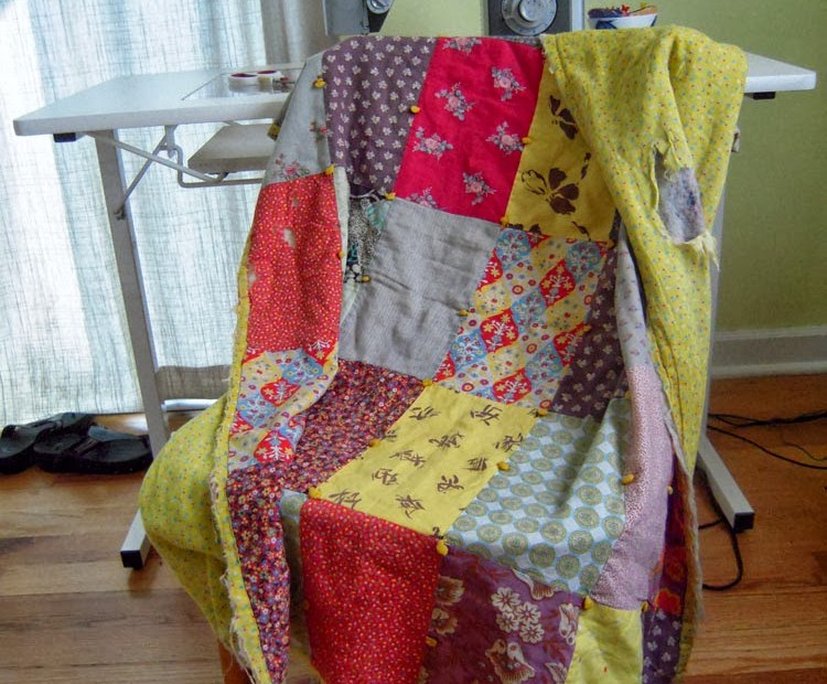 old baby quilt