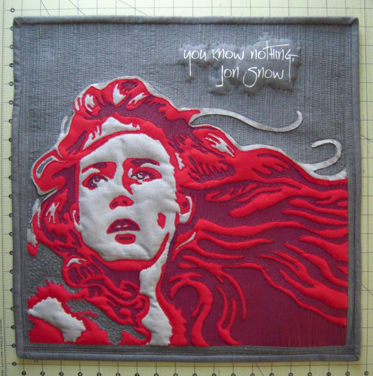Quilting Ygritte