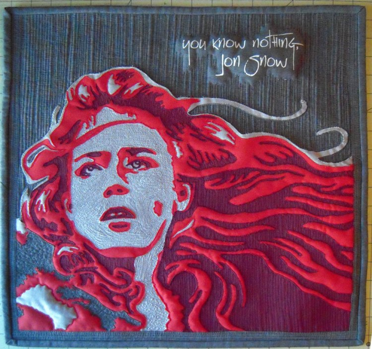 Ygritte Quilt - You know nothing Jon Snow