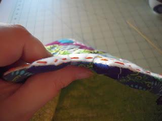 check hexie stitching