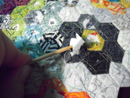 pulling papers hexies