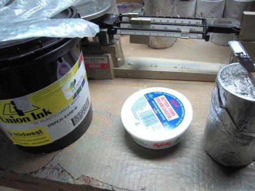 Mixing Discharge Inks